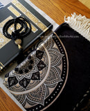 Luxury Kaabah Inspired Gift Hamper (Tasbih, Quran, Prayer Mat)