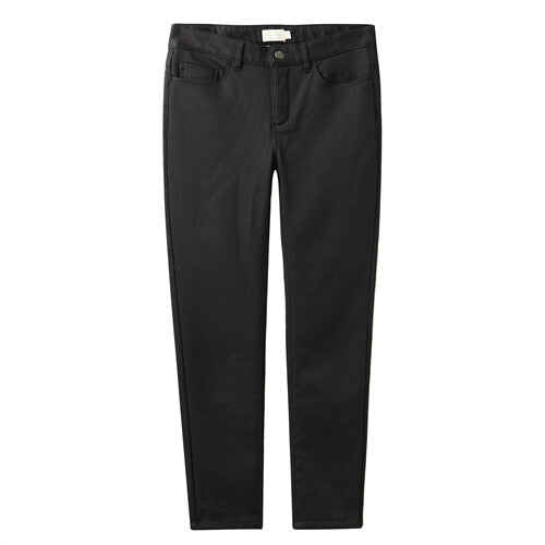 Giordano Women Pants Stretchy Fleece Lined Spodnie Damskie Slim Fit Casual Trouses Female Five Pocket Pantalon Femme 05419720