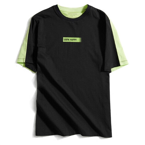 Giordano Women Tshirt Cotton-Blend Short Sleeve Haut Femme Fluorescent Green Koszulki Damskie Fashion Camisetas Mujer
