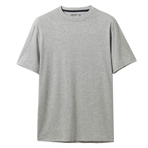 Giordano Men T Shirt Men Breathable Pure Cotton Slim Fit Tee Shirt Men Ribbed O Neck Solid Color Summer T Shirt Hombre