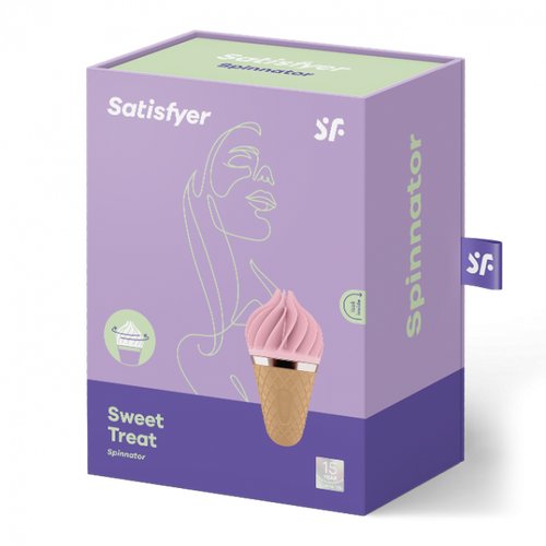 Satisfyer Sweet Treat - Pink