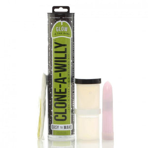 Clone A Willy Kit - Glow In The Dark - Green