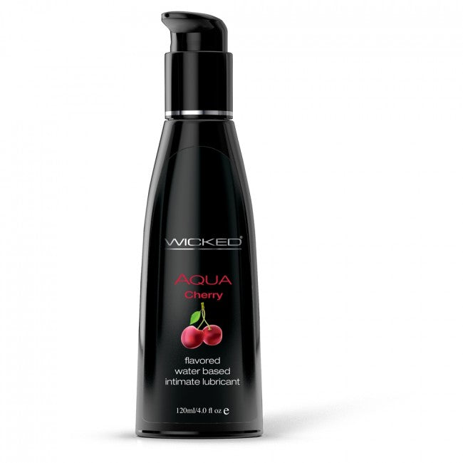 Wicked Transparent Lube 120ml - Cherry
