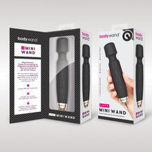 Load image into Gallery viewer, Black Bodywand Luxe Mini Wand