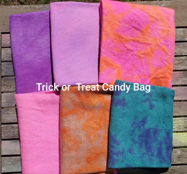 Charm square set: Trick or Treat Candy Bag