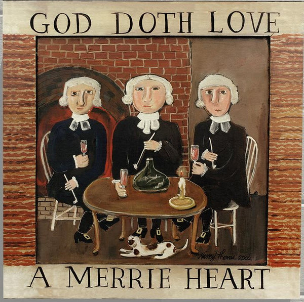 Nancy Thomas Pattern - GOD DOTH LOVE -