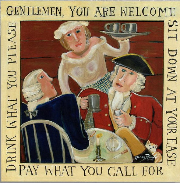 Nancy Thomas Pattern - WELCOME GENTLEMEN -