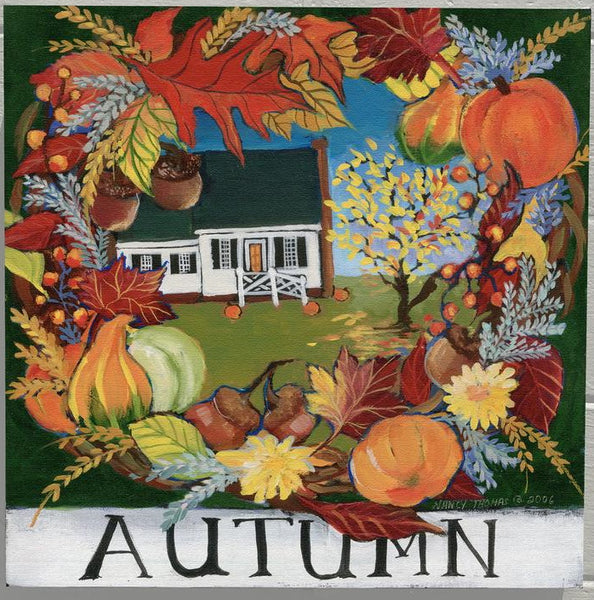 Nancy Thomas Pattern - COLONIAL WILLIAMSBURG SEASONS - AUTUMN -