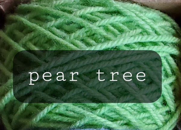 12 Days of Christmas Yarn: And a partridge in a pear tree/85 yrd