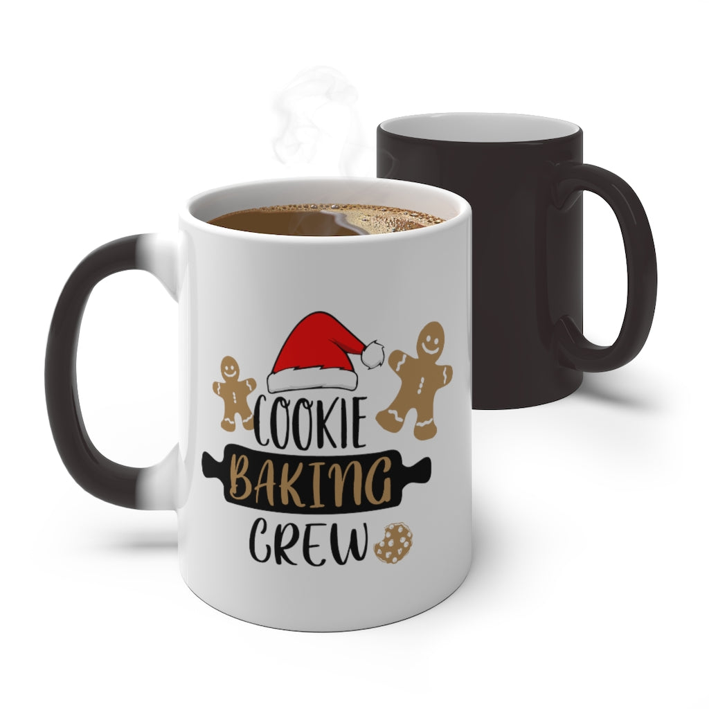 'Cookie Baking Crew' Color Changing Mug