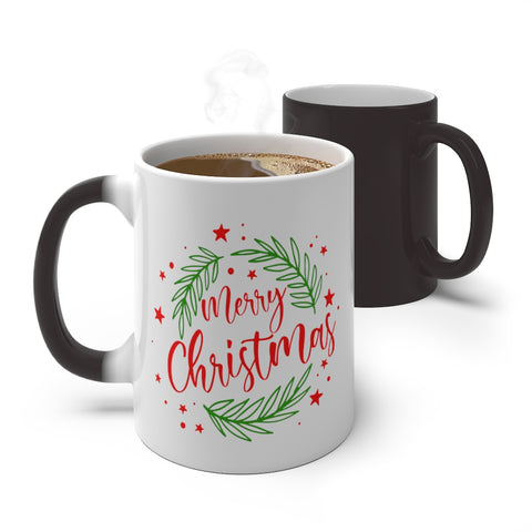 'Merry Christmas' Color Changing Mug