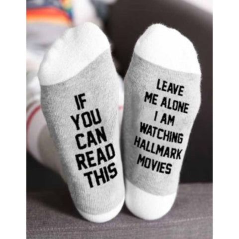Women's Hallmark Movies Socks