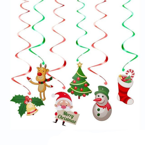 Christmas Hanging Decor Set