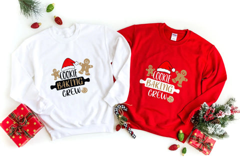 'Cookie Baking Crew' Sweatshirt