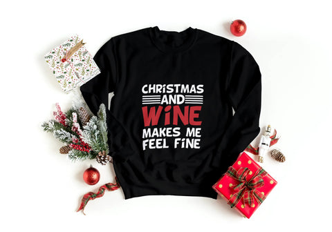 'Xmas and Wine' Sweatshirt
