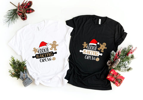 'Cookie Baking Crew' T-Shirt