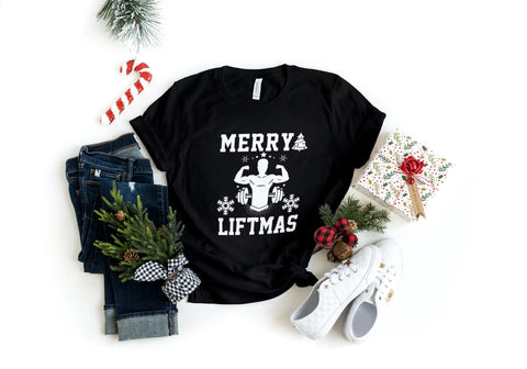 'Merry Liftmas' T-Shirt