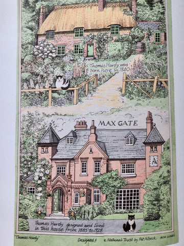 Max Gate, where Thomas Hardy lived, designed by Pat Albeck for the National Trust