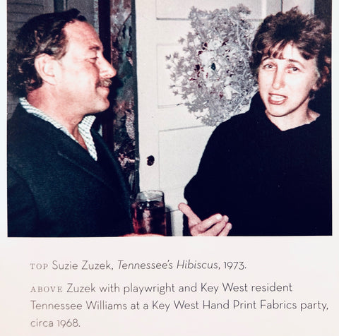 Suzie Zuzek and Tennessee Williams (Rizzoli)