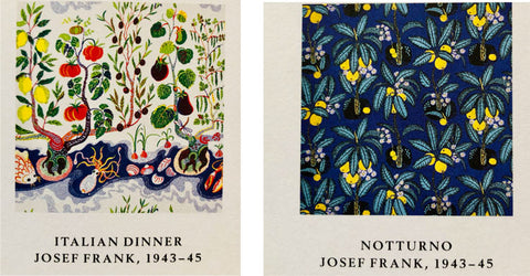 Italian Dinner and Notturno, Josef Frank