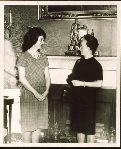Jackie Kennedy and Madeleine Porthault