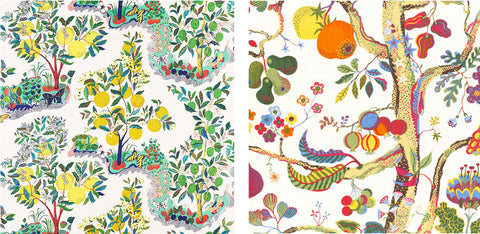 Josef Frank Citrus Garden and Vegetable Tree