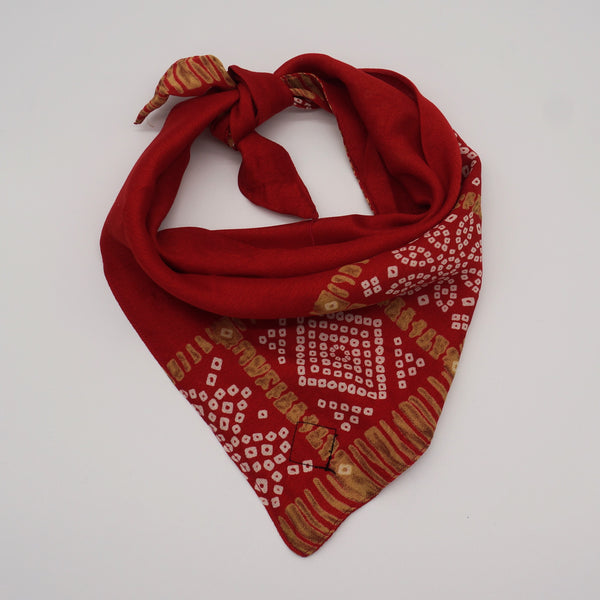Red Special Occasion Silk Bandana