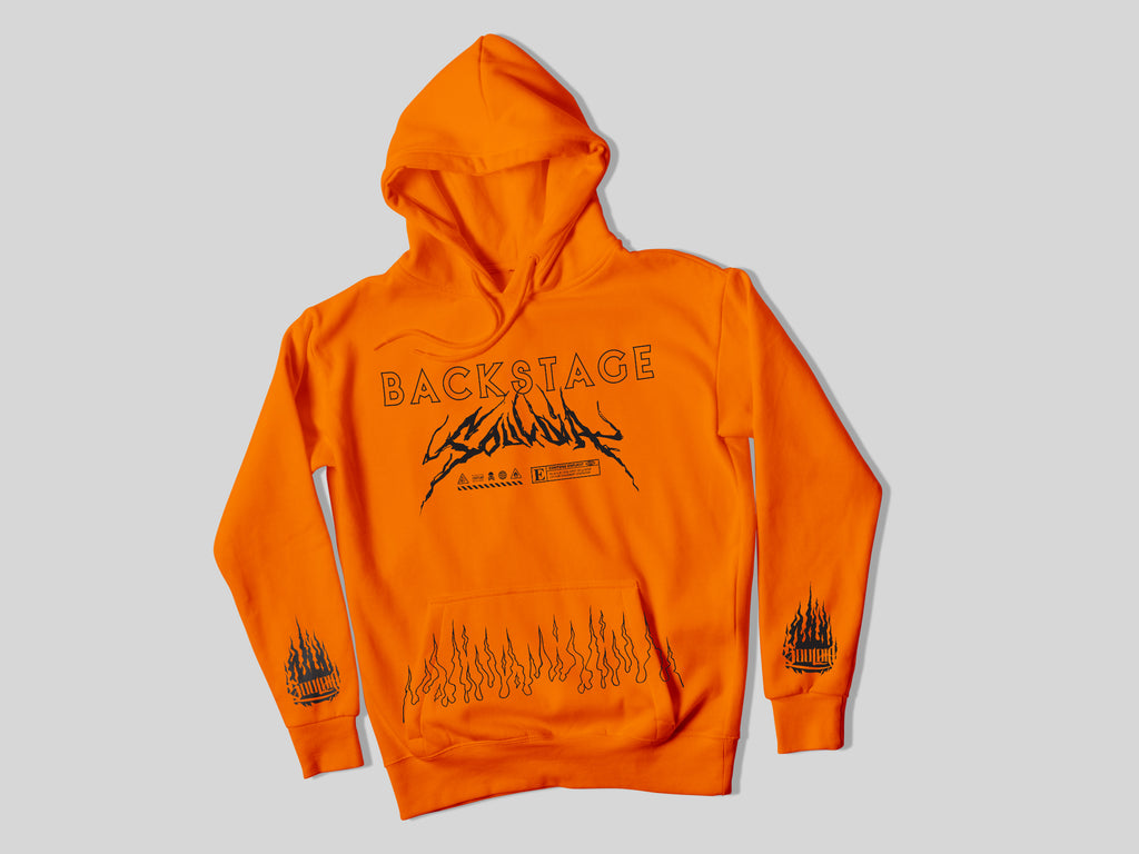HOODIE - SOULDIA BACKSTAGE ORANGE