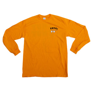 Long Sleeve Jaune Orange - FouKi/ ChutChut