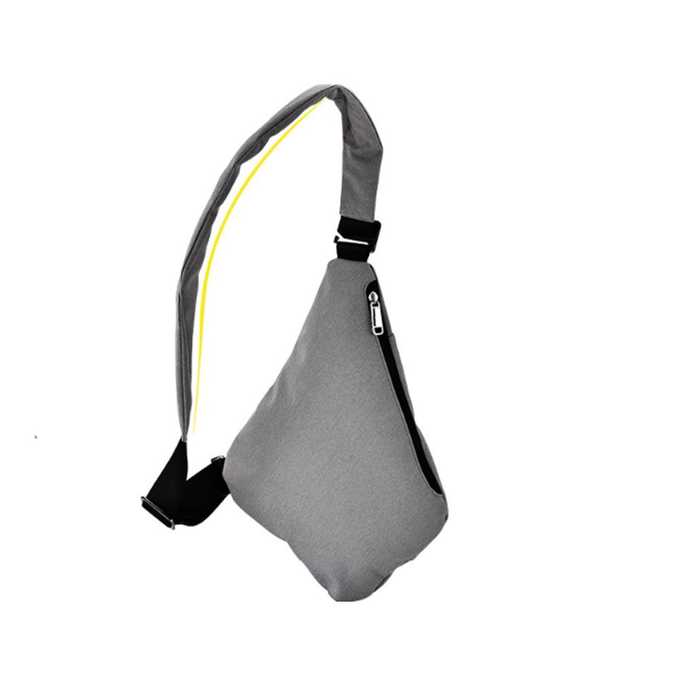 Waterproof Triangle Side Crossbody Bag