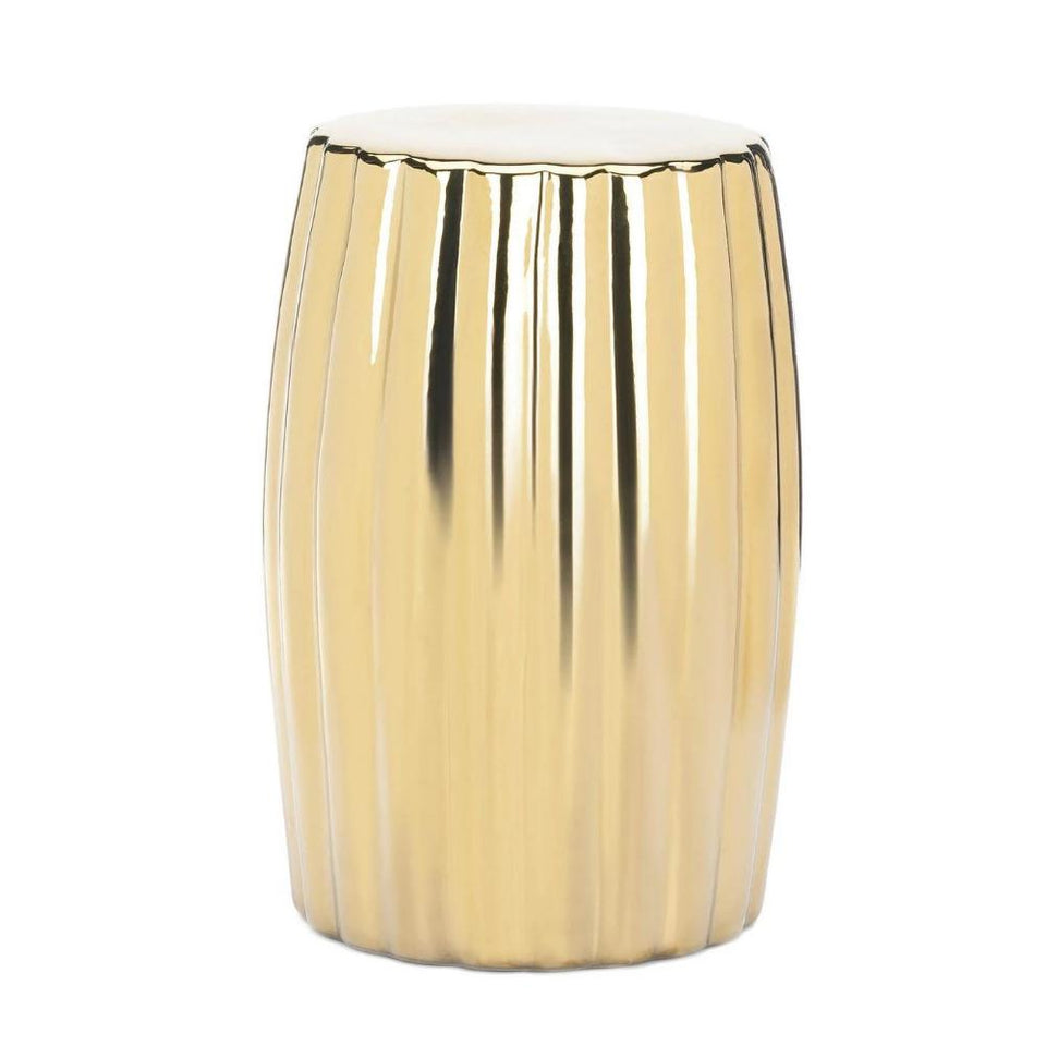 the-stock-mall - Beautiful Gold Decorative Stool For Anywhere In The House -