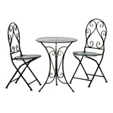 the-stock-mall - Beautiful Outdoor Iron Bistro Set - Garden Decor