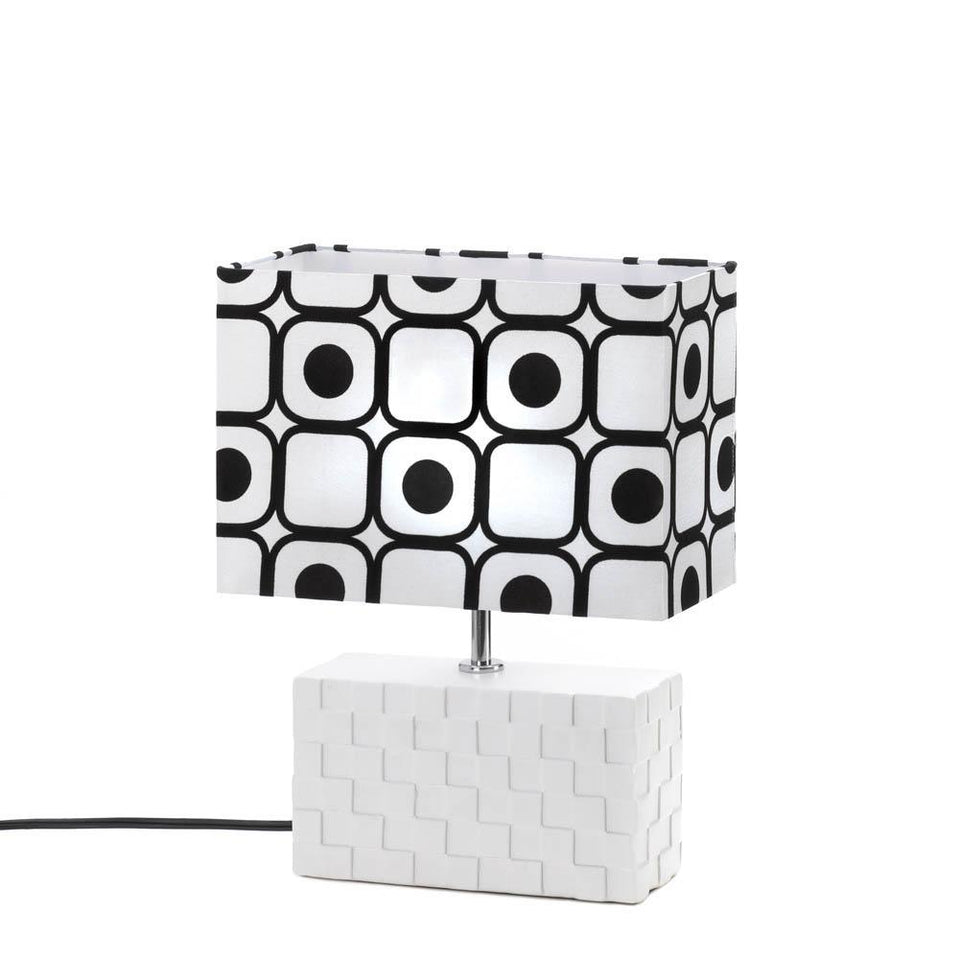 the-stock-mall - Geometric Pop Art Table Lamp - Home Decor