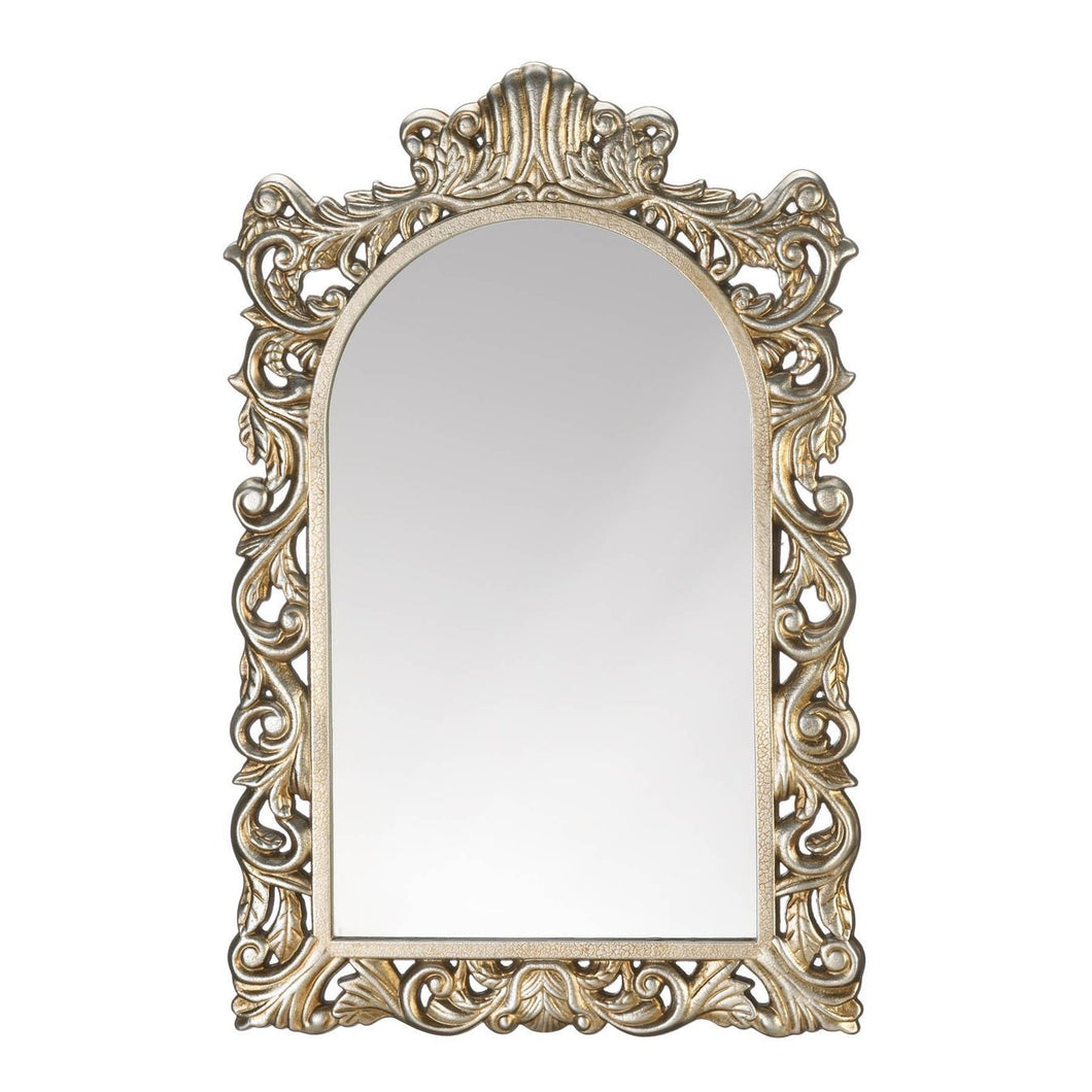 the-stock-mall - Grand Golden Wall Mirror - Home Decor
