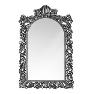the-stock-mall - Grand Silver Wall Mirror - Home Decor