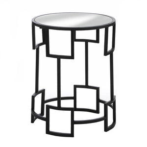 the-stock-mall - Modern Round Side Table - Home Decor