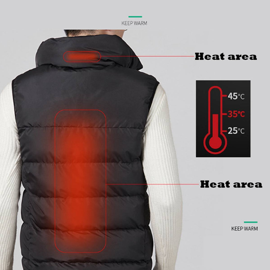 Smart Tech USB Heated Winter Vest for Men