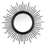 the-stock-mall - Rattan Wall Mirror - Home Decor