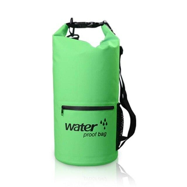 the-stock-mall - Outdoor Nylon Swimming Bag Kayaking Storage Waterproof Rafting Bag -