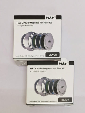 H&Y Magnetic Filter Kit for Fuji X100V