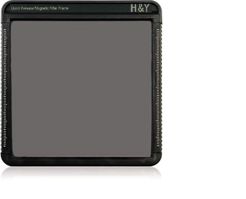 H&Y Neutral Density Filter 100x100mm ND8 (3-stop) with Magnetic Frame - photosphere.sg