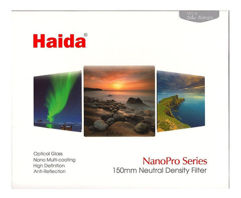 Haida NanoPro MC Neutral Density (ND) Filter, 150x150mm - photosphere.sg