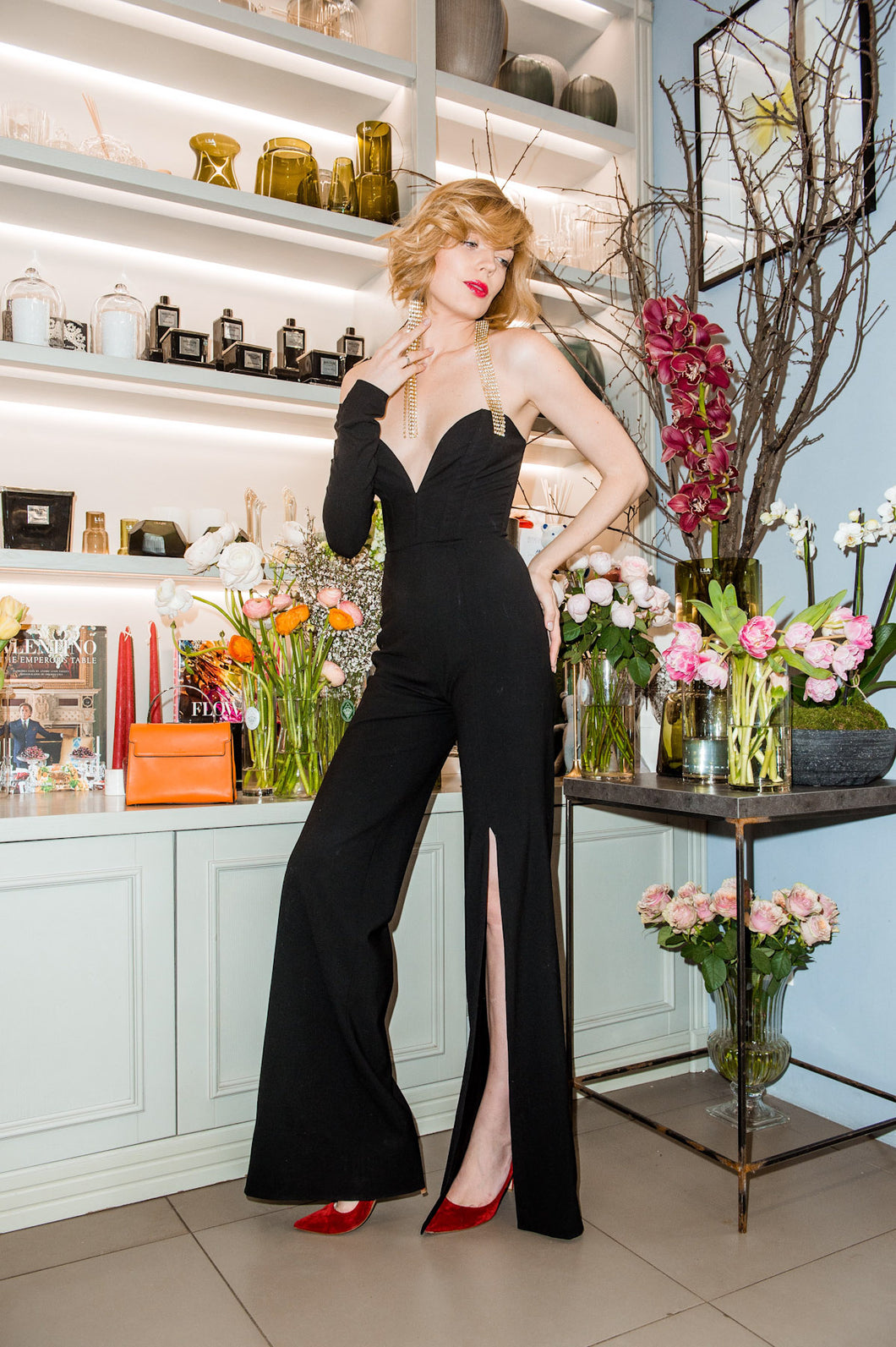 Evening jumpsuit