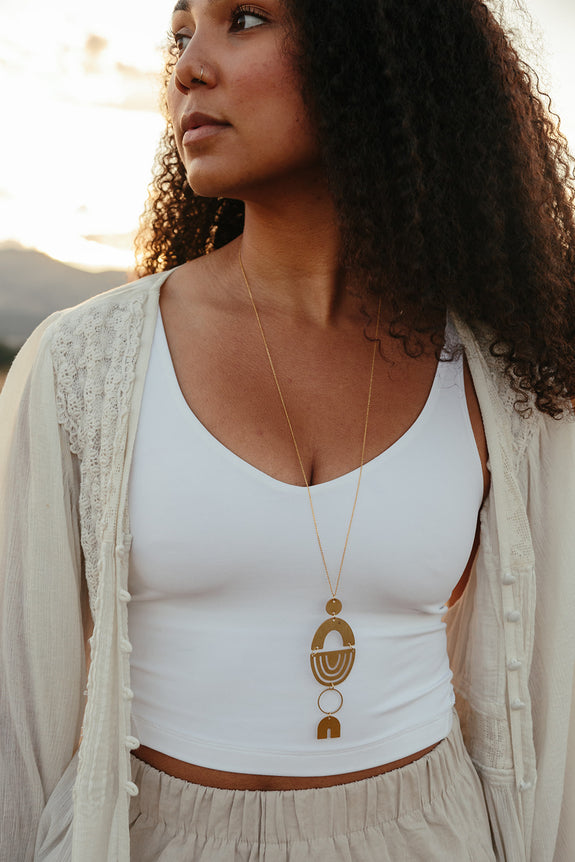 Golden Hour Necklace | 02