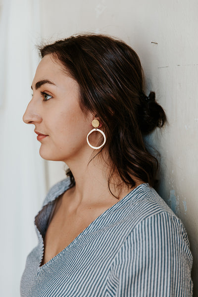 Cait Hoop Earrings