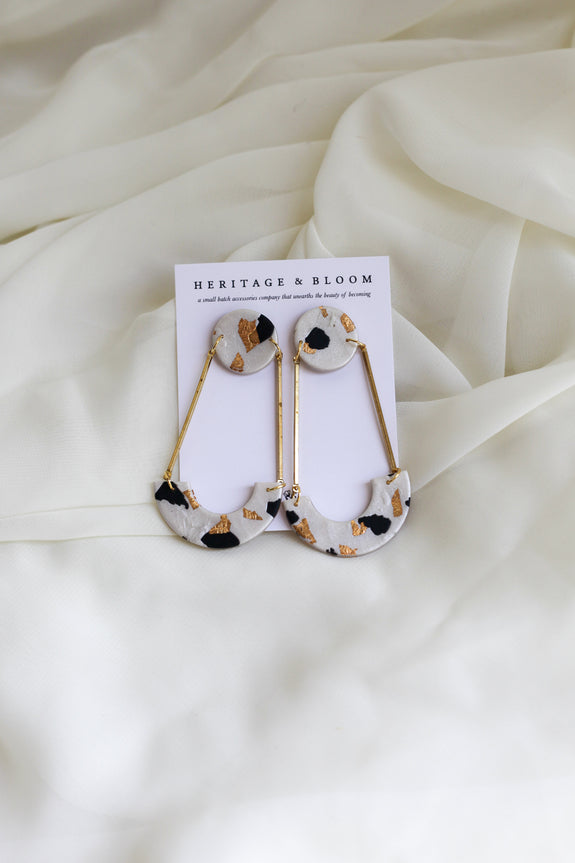 Myra Terrazzo Earrings