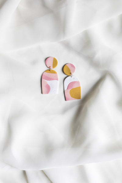 Abstract Arch Earrings