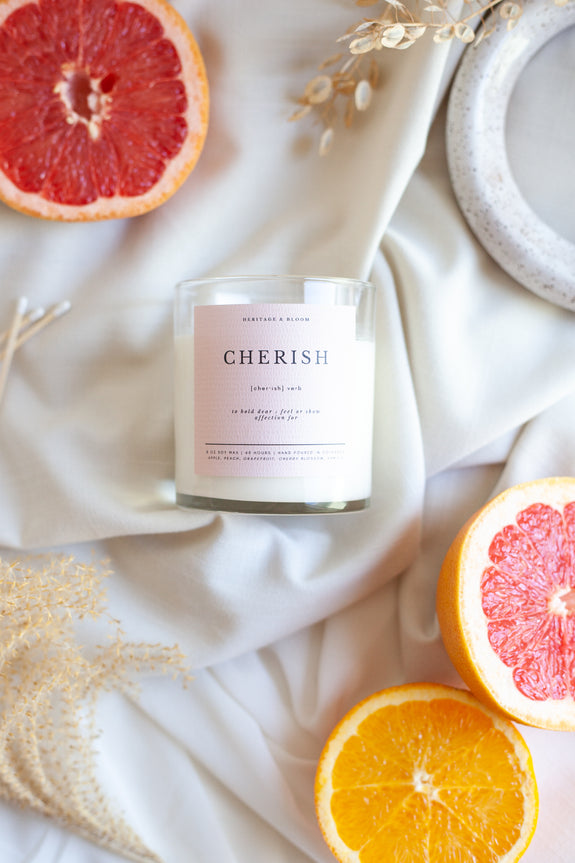Cherish Candle | 8 oz