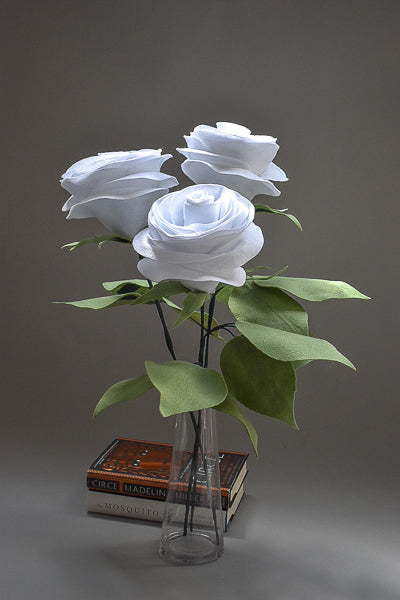Rose Bouquet. Home Decor. Gift. Home Accents. Floral Decoration. White Roses.