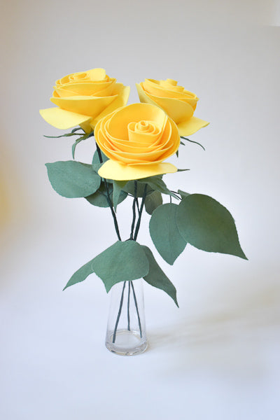 Rose Bouquet. Yellow Roses. Home Decor. Home Accents. Floral Decoration.